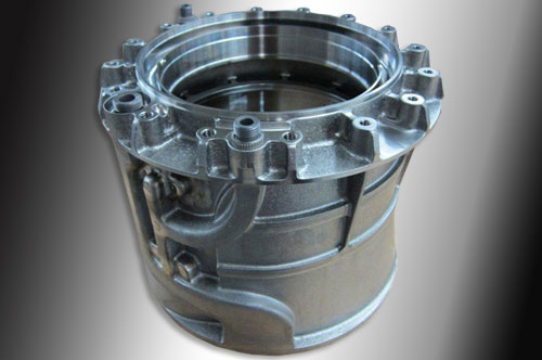 Custom CNC Machining of an Titanium Sump Housing Unit - Indiana